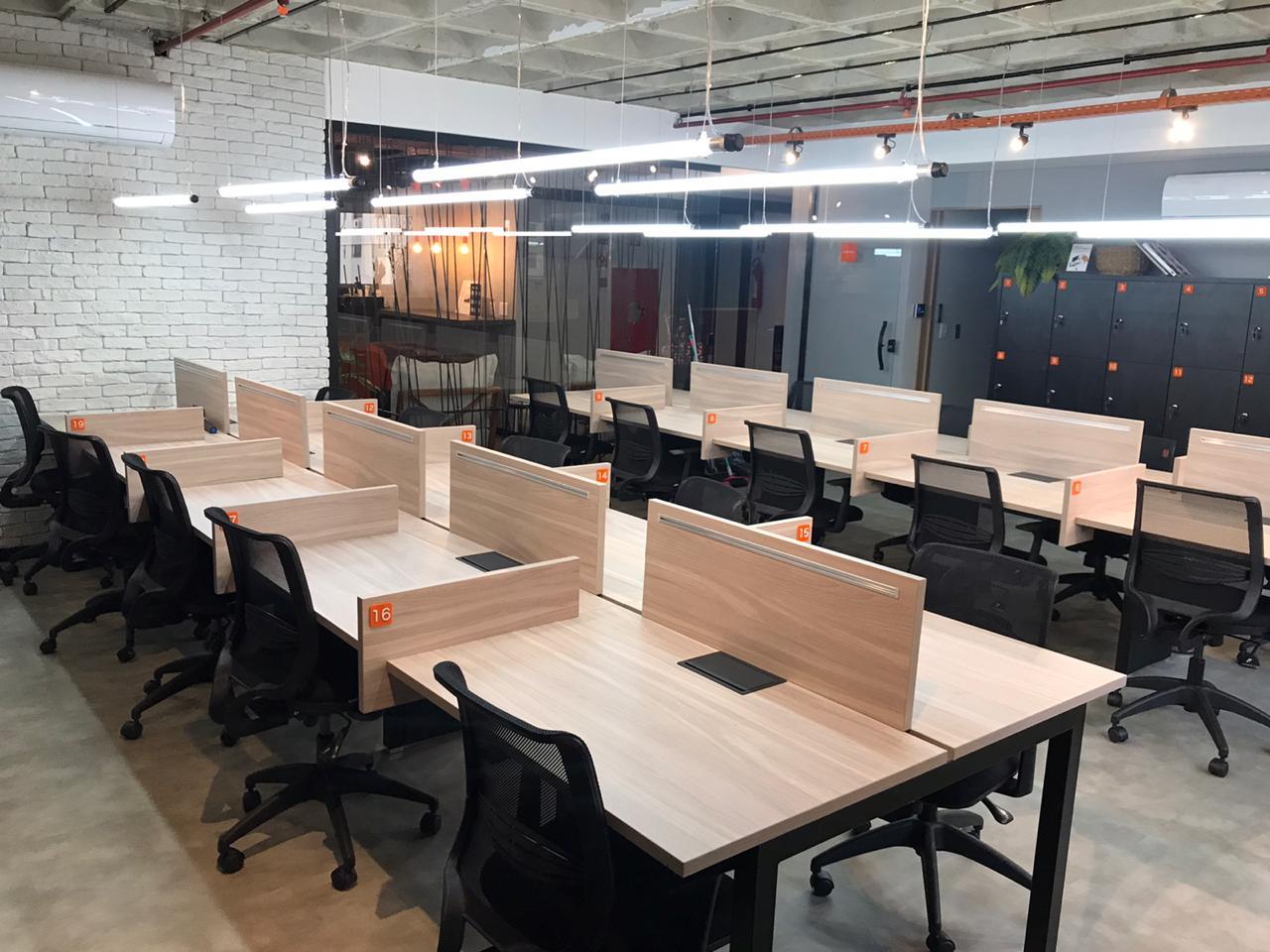 Coworking - Estações de trabalho