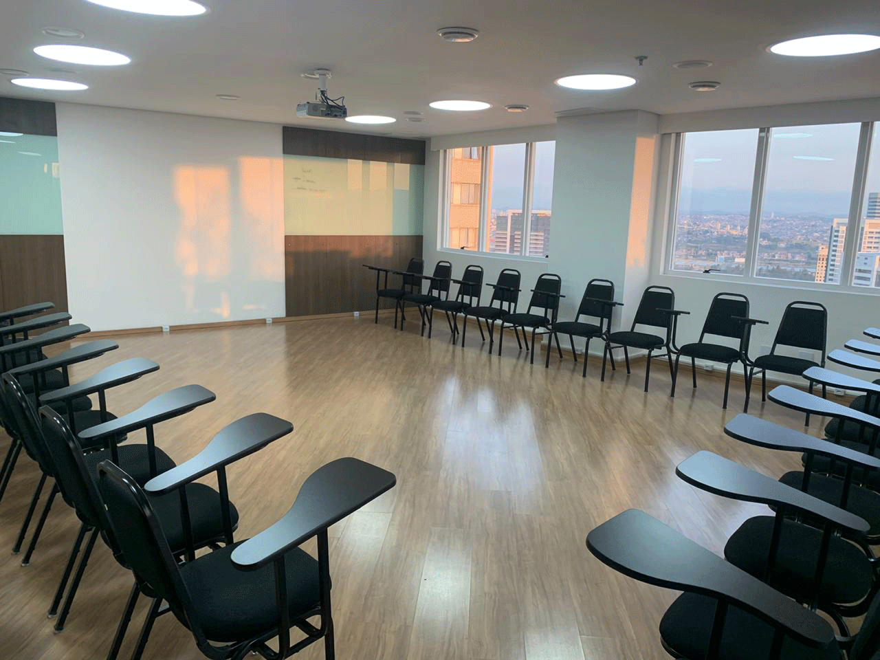 Formato U Cadeiras