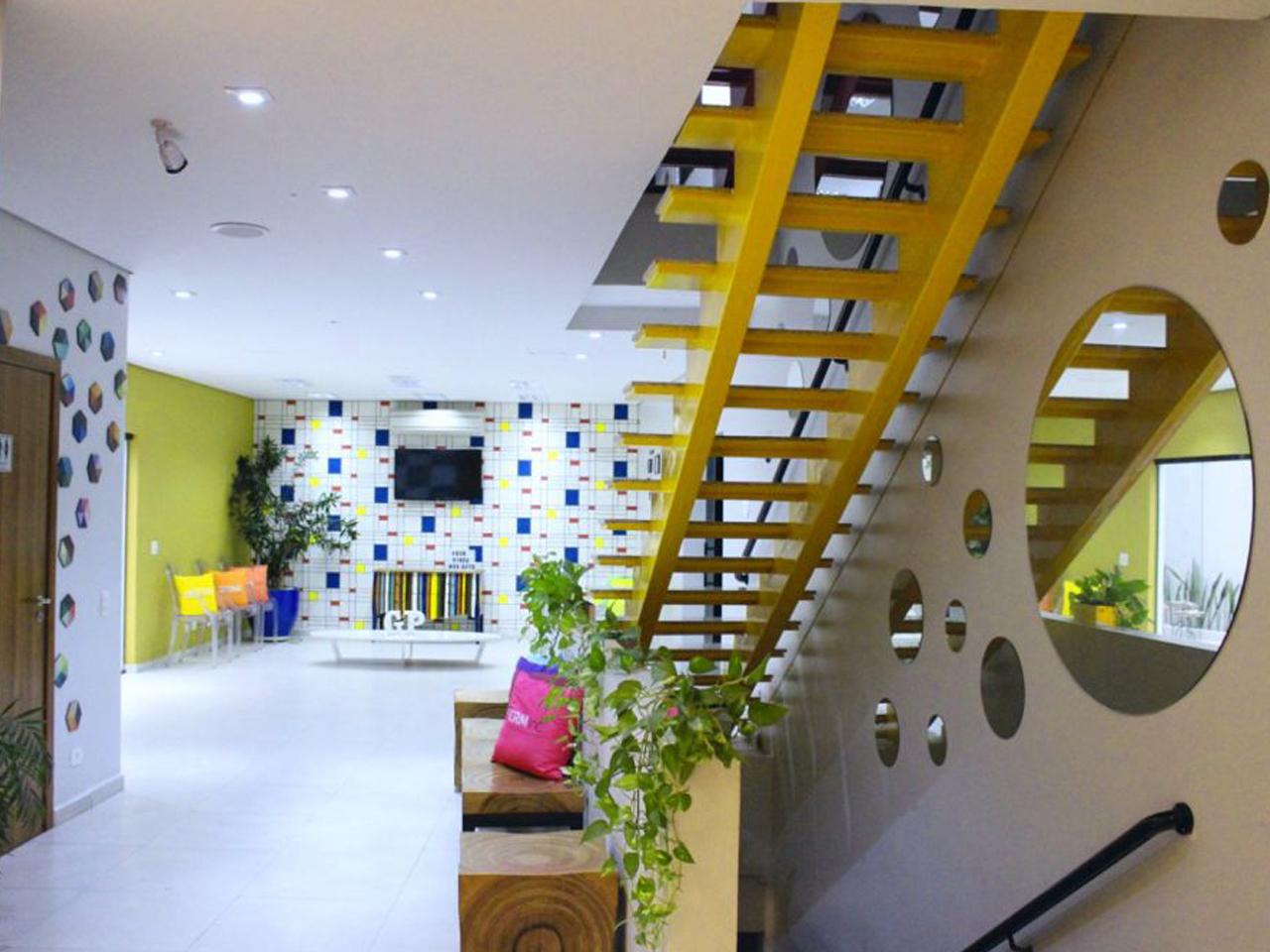 Escadaria - Unidade Lapa My Place Office